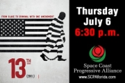 "July 1st Thursday -- Movie Night: ""13th"""