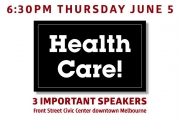 SCPA 1st Thurs: Health Care!