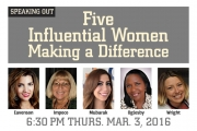 SCPA 1st Thurs: Five Influential Women Making a Difference