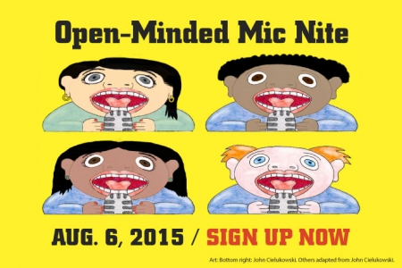 SCPA Open-Minded Mic Nite!