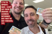 Dan and Scott get their drivers licenses