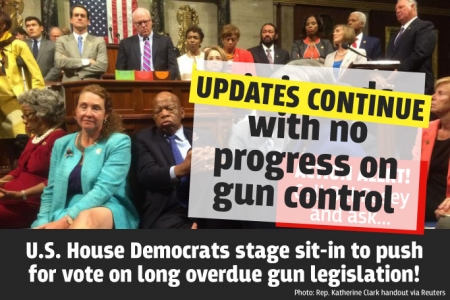 Black Caucus demands gun vote