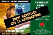 Sustainability Event Postponed