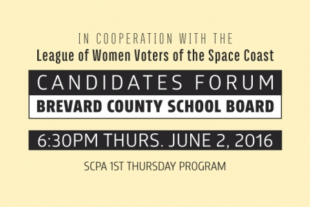 SCPA 1st Thurs: School Board Candidates Forum