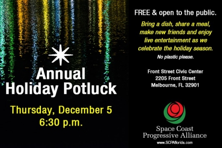 SCPA 2019 Holiday Pot Luck