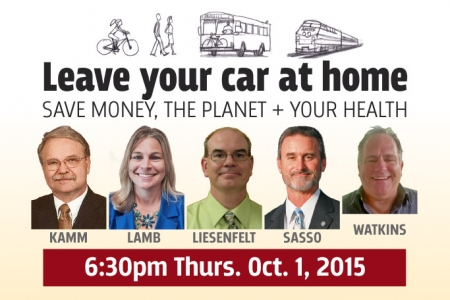 SCPA 1st Thursday: Leave your car at home!