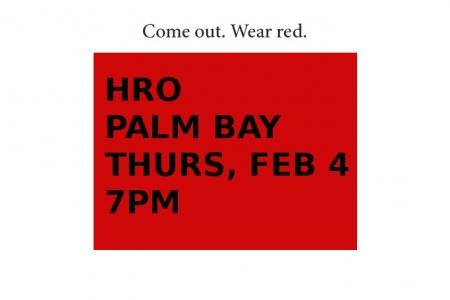 HRO Palm Bay now Feb. 4