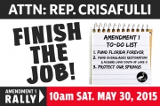 Crisafulli: Finish the Job!