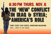 SCPA 1st Thurs: Conflict in Syria + Iraq -- America's Role