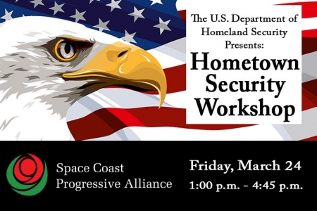 Important SCPA/DHS Hometown Security Workshop