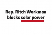Workman votes to block solar power