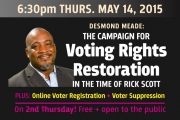 SCPA 2nd Thurs: Voting Rights!