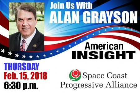 SCPA Welcomes Alan Grayson!