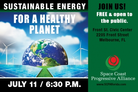 Sustainable Energy: For A Healthy Planet
