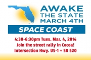Awake the State March 4th Space Coast